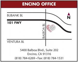 Encino Office Map