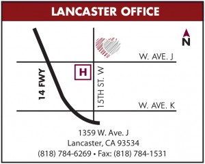 Lancaster Office Map